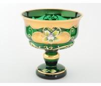 Зеленая Лепка Star ваза для варенья 13см