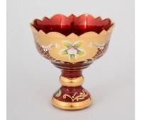 Красная Лепка ваза для варенья 13см