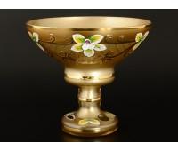 Лепка Золотая ваза для варенья 13см