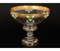 Лепка Золотая ваза для конфет 20см