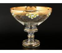 Лепка Золотая веер ваза для фруктов 26см