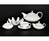 GALAXIE BRAD чайный сервиз на 6 персон 20 предметов