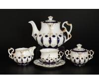 Элизабетт чайный сервиз на 6 персон 17 предметов
