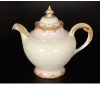 Cattin Розовый Золотой чайник заварочный
