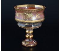 Розовая Лепка Star ваза для варенья 13см