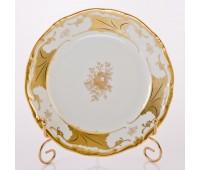 """Веймар """"Кленовый Лист Белый 408"""" набор тарелок 19см из 6ти штук закусочных"""