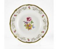 "Веймар ""1145"" набор тарелок 24см глубоких 6штук"