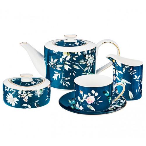 Стрекоза чайный сервиз на 6 персон 15 предметов