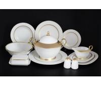 Корона Goldie столовый сервиз на 6 персон 27 предметов