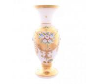 Белая Лепка ваза для цветов 31см