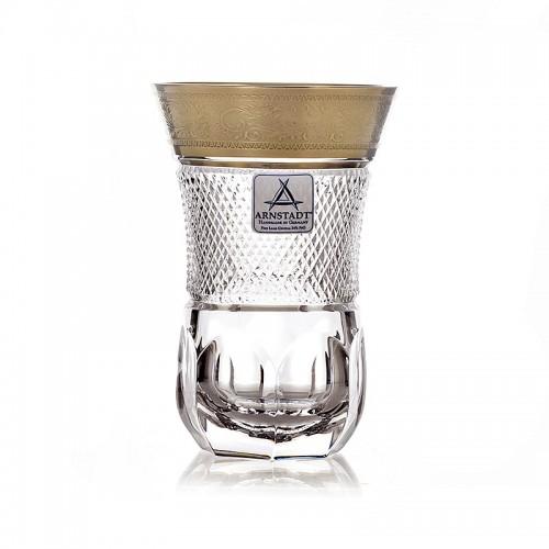 Арнштадт Бибиголд набор для чая (армуды) 150мл 6шт