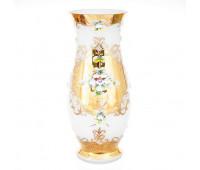 Белая Лепка Пител ваза для цветов 35 см