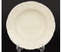 Бернадот Ивори Платина 2021 набор тарелок 23см глубоких 6штук