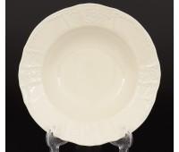 Бернадот Ивори Недекорированный 0000 набор тарелок 21см для супа 6 штук