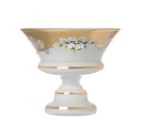 Белая Лепка 5365 ваза для конфет 15см