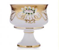 Белая Лепка 6111 ваза для конфет 15см