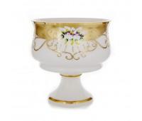 Белая Лепка 6111 ваза для фруктов 24см