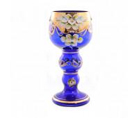 Синяя Лепка ваза для цветов