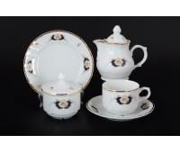 Бернадот Синий глаз сервиз чайный 22 предмета на 6 персон
