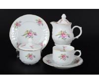 Бернадотте Полевой цветок сервиз чайный на 6 персон 22 предмета