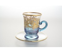 Тимон Голубые 2 набор чайных пар 160мл 6 штук