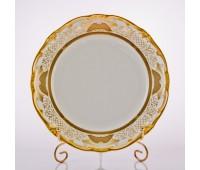 """Веймар """"Золотая Симфония 427"""" набор тарелок 24см подстановочных из 6ти штук"""