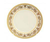 """Falken Porselan """"Констанция Крем Голд"""" набор тарелок 20см закусочных из 6ти штук"""