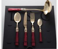 Домус Бордо набор столовых приборов на 12 персон 49 предметов