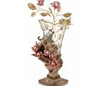 Cevik Group Розовые цветы ваза для цветов 55см