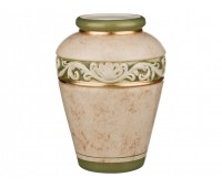 Арабеско Зеленая ваза 35см