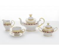 АГ 816 Анжелика чайный сервиз на 6 персон 15 предметов