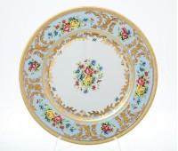 "Falken Porselan ""Виена Блю Голд"" набор тарелок 21см 6 штук"