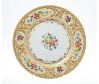 "Falken Porselan ""Виена Крем Голд"" набор тарелок 21см 6штук"