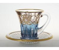 Тимон Голубые 2 набор чайных пар 6 штук
