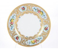 "Falken Porselan ""Виена Блю Голд"" набор тарелок 17см 6 штук"