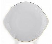 Бернадот Белый  Блюдо круглое 27 см
