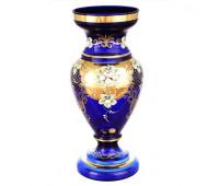 Синяя Лепка ваза для цветов 43см