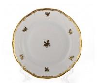"""Веймар """"Роза Золотая 1007"""" набор тарелок 22см из 6ти штук закусочных"""