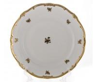 """Веймар """"Роза Золотая 1007"""" набор тарелок 19см из 6ти штук закусочных"""
