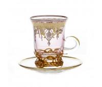 Alessiya набор для чая 6 чашек с блюдцами