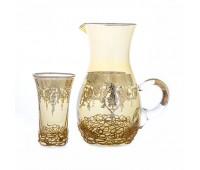 Alessiya набор для воды 7 предметов(кувшин и 6 стаканов)