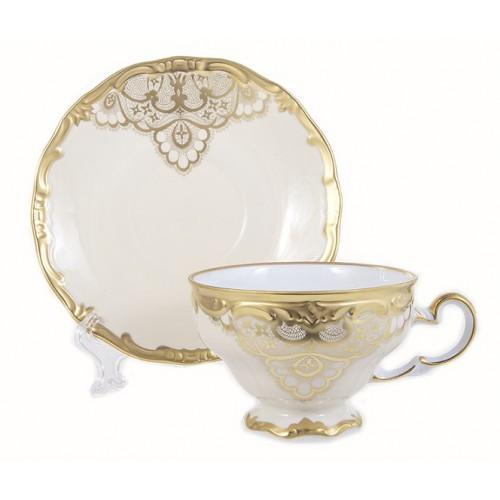 Веймар Лаке набор чайных пар 210мл 6 штук