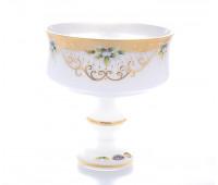 Белая Лепка ваза для фруктов 26 см