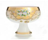 Белая Лепка 5849 ваза для конфет 16 см