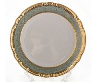 Констанция Бирюзовый набор тарелок 24 см 6 штук