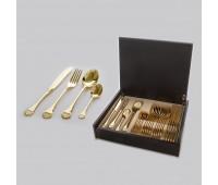 Баруния Голд набор столовых приборов на 6 персон 24 предмета