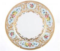 "Falken Porselan ""Виена Блю Голд"" набор тарелок 27см 6 штук"