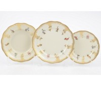 Аляска Карлсбад 5021 набор тарелок 18 штук
