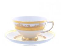 """Falken Porsellan """"Голд"""" набор чайных пар 220мл 6штук"""