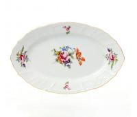 Бернадотт Полевой цветок  блюдо овальное 34см